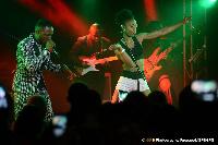 Dynastie Le Tigre en plein concert