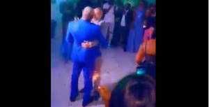 Begono et son mari en fête