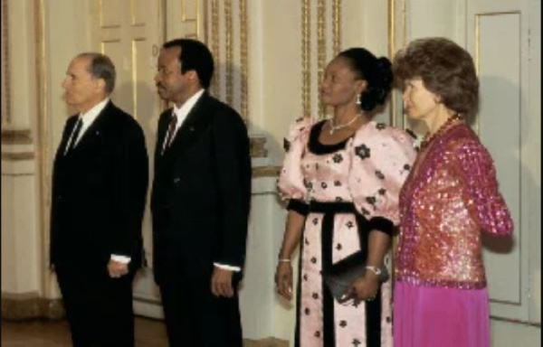 Le premier couple présidentiel de Paul Biya avec Irène
