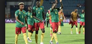 Les lions indomptables lors de la CAN 2019