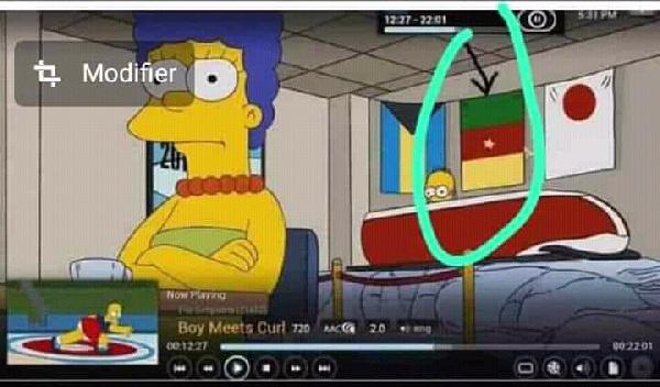 Après Kobe Bryant, 'voici la grosse prédilection des Simpsons sur le Cameroun'
