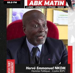 Hervé Emmanuel Nkom, cadre du RDPC