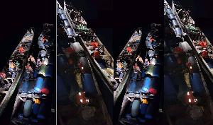 Barques des présumés contrebandiers