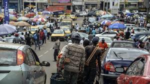 Dans les rues de Yaoundé