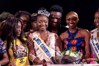 Miss Cameroon France and contestant