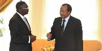 Paul Biya et son bras droit Ferdinand Ngoh Ngoh