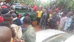 L'adjudant-chef Sébastien Laschele a été affecté dans la ville de Ngoumou, dans la région du Centre