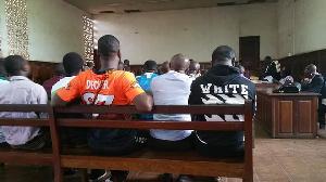Dans un tribunal au Cameroun