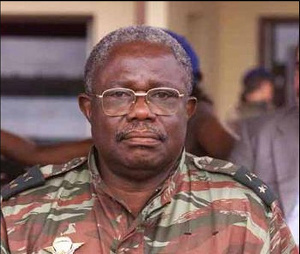 Le général Pierre Semengue