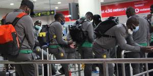 Les Lions toujours bloqués à l'aéroport