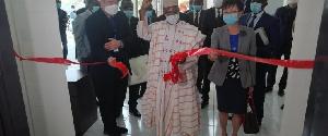 Le Ministre de la Santé Publique  inaugure l'entreprise MEDILINE MEDICAL CAMEROON