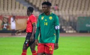 C'est Salomon Banga qui a donné l'avantage aux Lions Indomptables A' du Cameroun