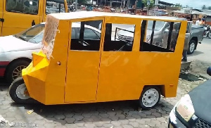 Tricycle Made In Cameroon