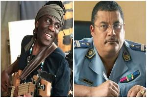 Richar Bona et le Colonel Didier Bajeck