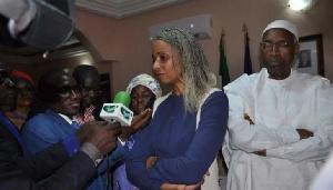Patricia Tomaïno Ndam Njoya, maire de la ville de Foumban