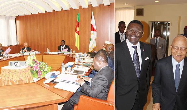 Ferdinand Ngoh Ngoh, SG du palais d'Etoudi gère les grandes réunions du Palais