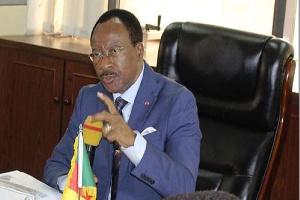 Nganou Djoumessi, ministre des Travaux publics
