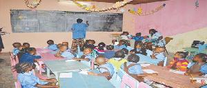 Une école maternelle (illustration)