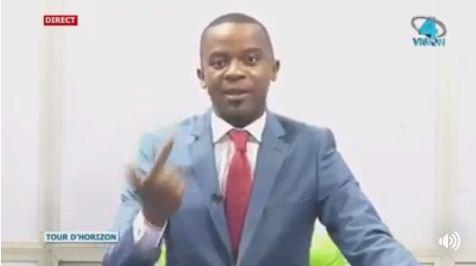 Le 'grand' journaliste de Vision4 attaqué par la BAS