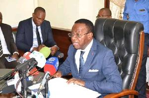 Fame Ndongo, ministre de l'Enseignement supérieur du Cameroun