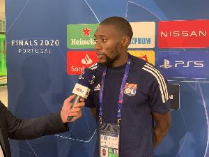 Toko Ekambi en conférence de presse