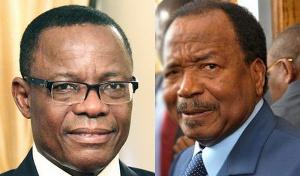 Paul Biya et son plus farouche opposant Maurice Kamto