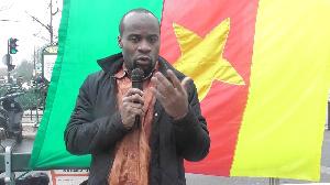 Abdelaziz Mounde, journaliste et activiste camerounais