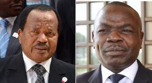 Paul Biya et Amougou Belinga