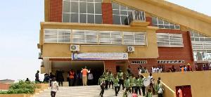 La cérémonie de remise des parchemins à ces frais émoulus de l'Université de Maroua