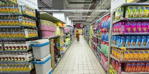 Dans un supermarché à Yaoundé