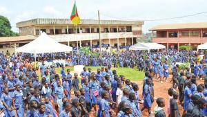 Les élèves dans un établissement scolaire