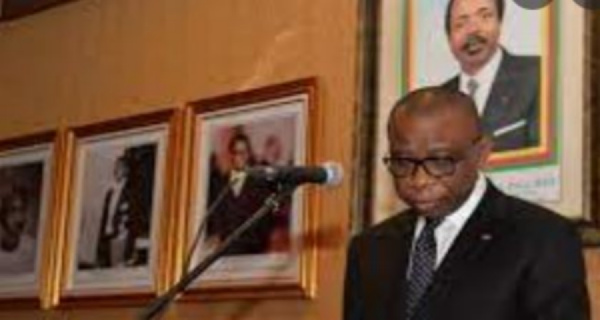 André-Magnus Ekoumou, Ambassadeur du Cameroun en France