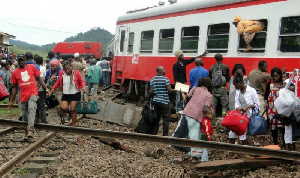Image de la terrible catastrophe d'Eseka