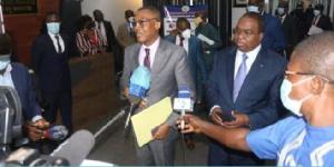 Serge N'Guessan conduisait une délégation de responsables de la BAD Afrique Centrale
