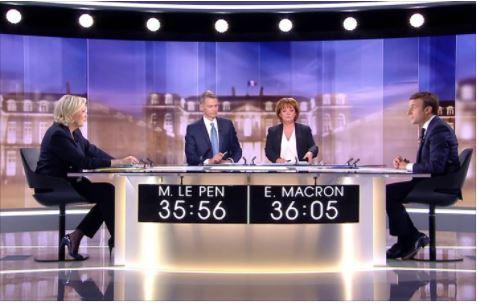 ''La sécurité et le terrorisme sont totalement absents de votre projet', a martelé Madame Le Pen