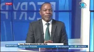 Amougou Belinga est le patron du groupe Anecdote