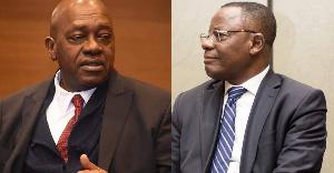 Maurice Kamto et Penda Ekoka