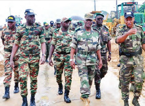 Les Généraux de l'armée camerounaise