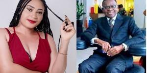 Pélagie Ndjike et Maurice Kamto