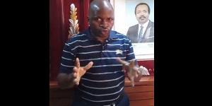 Le Dr Fridolin Nke dans le bureau du patron du Semil