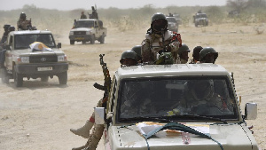 Des combattants de la secte Boko Haram
