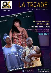 L'affiche du film 'La Triade'