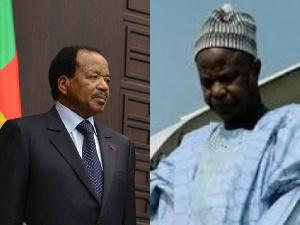 Amadou Ahidjo et Paul Biya