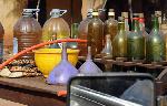Le carburant trouvé chez lui a été saisi et emporté pour des ventes aux enchères légales