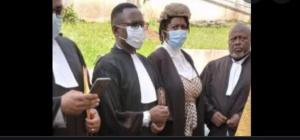Me Hyppolite Meli et ses collègues avocats