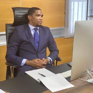 Samuel Eto'o est nommé Ambassadeur