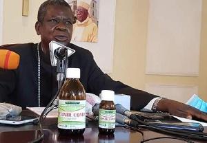 Mgr Kleda, archevêque métropolitain de Douala
