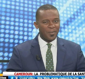 Ernest Obama ancien journaliste de Vision 4