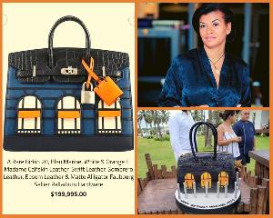 Le sac offert par Samuel Eto'o à sa femme coûte cent huit millions de franc CFA