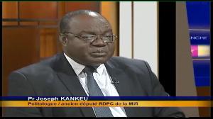 prof Joseph Kankeu, chargé de mission permanant au secrétariat général du RDPC